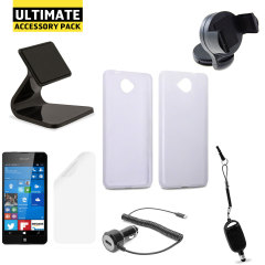 The Ultimate Microsoft Lumia 650 Accessory Pack