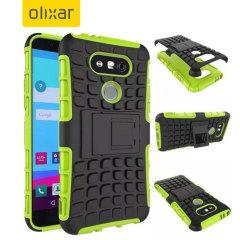 Bescherm je LG G5 met deze Olixar ArmourDillo beschermhoes, bestaande uit een innerlijke TPU case en een slagvast exoskelet.