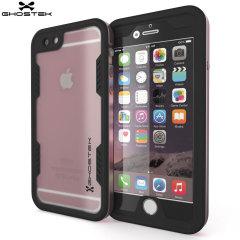 Utrusta din iPhone 6S Plus / 6 Plus med ett extremt tåligt allround skydd! Ghostek Atomic 2.0 i Rosé är ett vattentät skal som ger dig ett robust skydd mot fall med sitt inbyggda skärmskydd.
