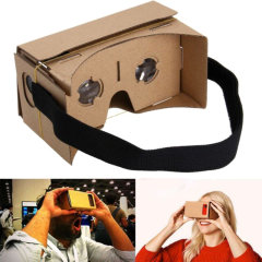 Compatible with iOS and Android devices, the I AM Cardboard VR Kit V2.0 is the perfect introduction to Google Cardboard and allows you to enjoy the most immersive smartphone experience available today.
