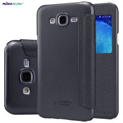 Nillkin Sparkle Samsung Galaxy J5 2015 View Flip Case - Black