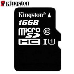 Tarjeta Micro SD Kingston Digital Clase 10 con Adaptador a SD - 16GB