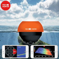 Introducing the portable FishHunter Directional 3D. Featuring 5 tranducers, dual frequency and Wi-Fi, this is the most powerful fish finder of its kind.