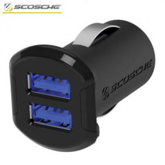 The Schosche reVOLT Dual Car Charger features two USB ports, delivering 2.4A of power each, perfect to charge your smartphone and tablet on the go.