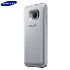 Coque Batterie Samsung Galaxy S7 Edge Officielle - Argent