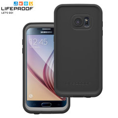 Make your phone waterproof and experience the freedom to surf, sing in the shower, ski, snowboard, work on construction sites and have true Samsung Galaxy S7 mobile freedom anywhere you go with this black LifeProof Fre case.