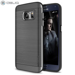 Obliq Slim Meta Samsung Galaxy S7 Deksel - Sølv Titanium