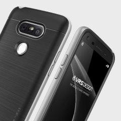 Schützen Sie Ihr LG G5 mit dieser Hülle von VRS Design. Diese Hülle ist aus 2 Schutzschichten hergestellt damit Ihr Handy schön bleibt und gleichzeitig vor Beschädigungen geschützt ist.
