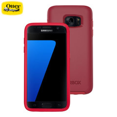 Coque Samsung Galaxy S7 OtterBox Symmetry - Rouge