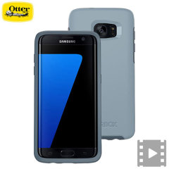 OtterBox Symmetry Samsung Galaxy S7 Edge case - Blauw
