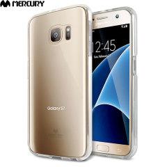 Mercury Goospery Jelly Samsung Galaxy S7 Gel Case - Transparent