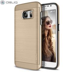 Obliq Slim Meta Samsung Galaxy S7 Case Hülle Champagne Gold