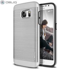 Obliq Slim Meta Samsung Galaxy S7 Deksel - Sølv