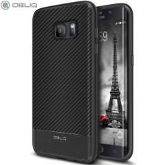 Dekslet Obliq Flex Pro Shell er en stilig, ergonomisk og beskyttende deksel til Samsung Galaxy S7 Edge. Dekslet gir støtdemping takket være den strukturerte overflaten.