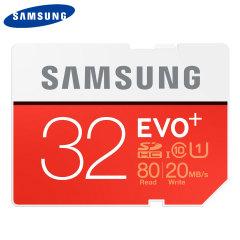 Carte mémoire MicroSDHC Samsung EVO Plus Classe 10 – 32Go
