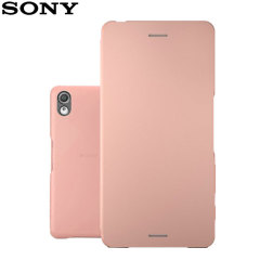 This official Style Cover flip case from Sony houses your Xperia X within a form fitting hard case and encloses it in a soft microfibre inner lining and a rose gold cover. Sleep / Wake compatibility on this case helps conserve your Xperia X's battery life