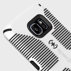 Speck CandyShell Grip Samsung Galaxy S7 Edge Case - White / Black