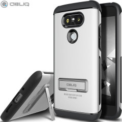 Obliq Skyline Advance Pro LG G5 Hülle in Satin Silber