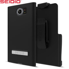Seidio SURFACE Combo BlackBerry Priv Holster Case - Black
