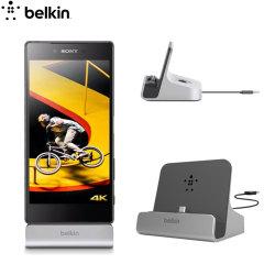 Sincronice y cargue su Sony Xperia Z5 Premium con esta base Belkin PowerHouse Dock XL. Delgado, ligero y diseñado con un estilo muy elegante, el dock Belkin PowerHouse XL es discreto, perfecto tanto para el hogar como para la oficina.