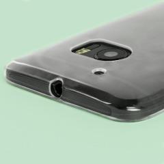 Fabricada específicamente para el HTC 10, esta funda 100% transparente Ultra-Delgada FlexiShield fabricada por Olixar proporciona una protección delgada y duradera contra daños sin añadir volumen extra.