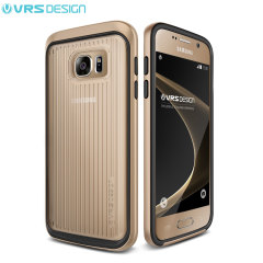 VRS Design Triple Mixx Samsung Galaxy S7 Case - Shine Gold