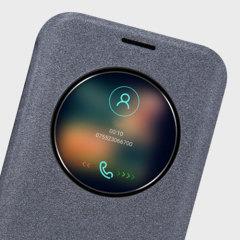 Nillkin Sparkle Big View Window Samsung Galaxy S7 Edge Case - Black