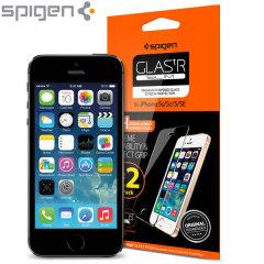 Lo último en protección para la pantalla de su iPhone SE, el protector de pantalla SGP GLAS.tR está fabricado con cristal real de alta calidad, con bordes redondeados y capa anti huellas y anti suciedad.