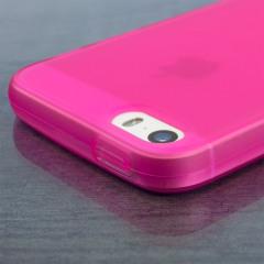 Krystalplastagtig beskyttelse med holdbarheden af et silikoneetui, fremstillet specielt til   iPhone SE.