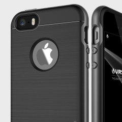 Bescherm je iPhone SE met deze nauwkeurig ontworpen case van VRS Design, gemaakt van sterk, tweelaags maar slank materiaal. De harde schaal constructie met slanke bumper is gekenmerkt door een aantrekkelijk tweekleurige afwerking.