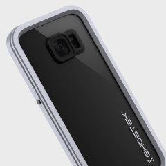 Ghostek Atomic 2.0 Samsung Galaxy S7 Edge Waterproof Hülle Silber