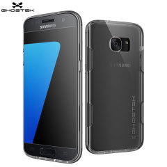 Ghostek Cloak Samsung Galaxy S7 Edge Tough Hülle in Klar / Schwarz