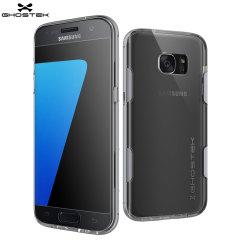 Ghostek Cloak Samsung Galaxy S7 Edge Tough Case Hülle in Klar / Silber
