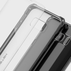 Ghostek Covert Samsung Galaxy S7 Edge Bumper Case - Clear / Black