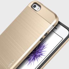 Obliq Slim Meta iPhone SE Case Hülle in Gold