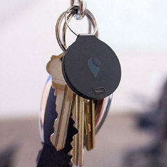 TrackR Bravo Phone and Valuables Bluetooth Locator - Black