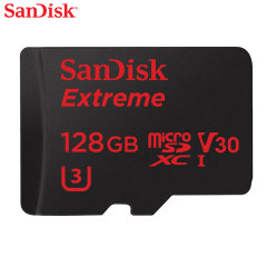 SanDisk Extreme MicroSDXC Card with Adapter - 128GB