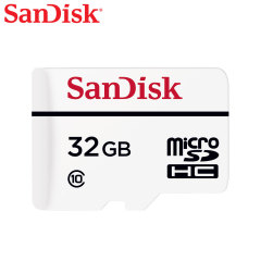 SanDisk brings you a Full-HD compliant high performance Micro SD Card. The 32GB Micro SDHC card safely and effectively stores all your precious data and video. This high endurace video monitoring memory card is ideal for dash cams and CCTV systems.