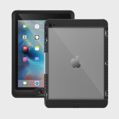 The Lifeproof cover stand in black attaches perfectly to the iPad Pro 9.7 when encased in a Lifeproof nuud case. With a smooth leather-style finish, a soft touch inner and a media viewing stand, the cover stand add on adds extra functionality to your case