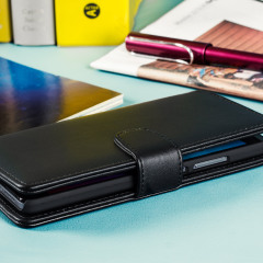 Funda Huawei Honor 5X Olixar Piel Genuina Tipo Cartera - Negra