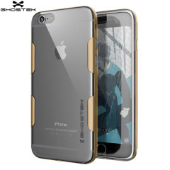 Ghostek Cloak iPhone 6S Plus / 6 Plus Tough Hülle Klar / Gold
