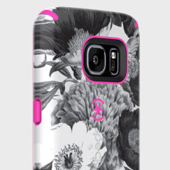 Speck CandyShell Inked Samsung Galaxy S7 Skal - Floral / Rosa