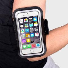 Universal Sport-fit Armband für Medium Smartphones - Schwarz