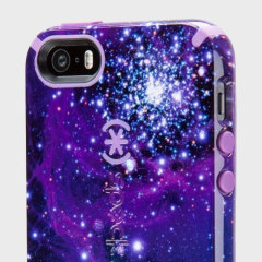 Speck CandyShell Inked iPhone SE Tough Hülle Galaxy Purple