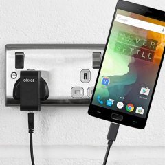 Charge your OnePlus 2 and any other USB device quickly and conveniently with this compatible 2.4A high power USB-C UK charging kit. Featuring a UK wall adapter and USB-C cable.
