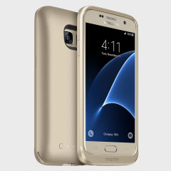 Coque batterie Samsung Galaxy S7 Mophie Juice charge sans fil – Or