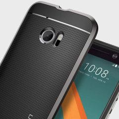 Spigen SGP Neo Hybrid HTC 10 Hülle in Gunmetal Grau