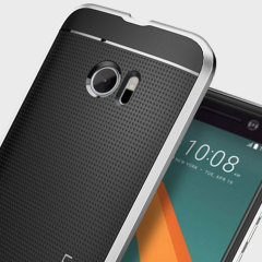 Spigen SGP Neo Hybrid HTC 10 Hülle in Satin Silber