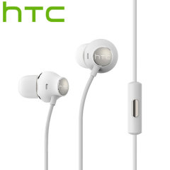 Official HTC 10 Hi-Res Earphones - White