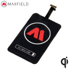 Maxfield Universal Micro USB Qi Wireless Charging Adapter
